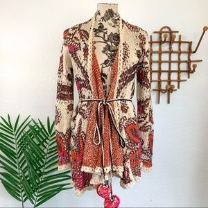 Anthropologie Moth Pleidas Knit Cardigan